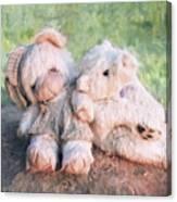 Furry Friends Canvas Print