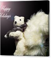 Furry Holiday Canvas Print