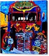 50th Anniversary Further Bus Tour Canvas Print