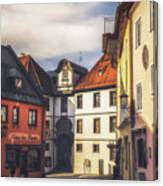 Fussen In The Morning Canvas Print
