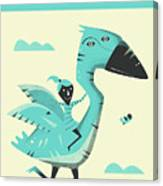 G Is For Goose Canvas Print