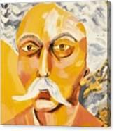 Gabriel Faure Portrait Canvas Print