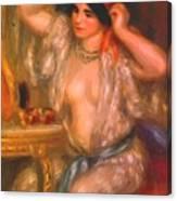 Gabrielle At The Mirror 1910 Canvas Print