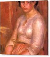 Gabrielle Seated Canvas Print