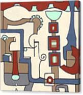 Gadgets Canvas Print