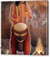 Gaian Tarot Magician Canvas Print