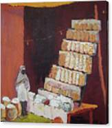 Gajak Sweet Shop Canvas Print