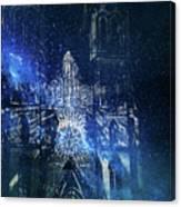 Galactic Prometheus Canvas Print