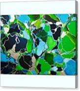 Galactic Puzzle Canvas Print