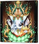 Galactik Ganesh Canvas Print
