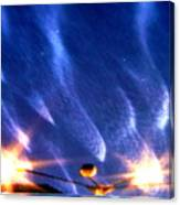Galaxies 65 Canvas Print