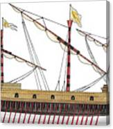 Galeazza Grossa Canvas Print