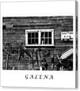 Galena Antiques Canvas Print