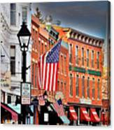Galena On A Perfect Day Canvas Print