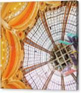 Galeries Lafayette Inside 3 Art Canvas Print