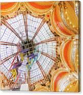 Galeries Lafayette Inside 4 Art Canvas Print