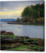 Galiano Island Inlet Canvas Print