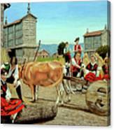 Galicia Medieval Canvas Print