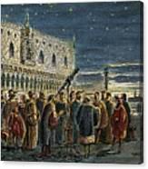 Galileo Galilei, 1564-1642 Canvas Print