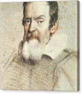 Galileo Galilei Canvas Print