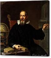 Galileo Galilei, Italian Astronomer Canvas Print