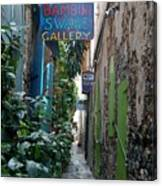 Gallery Alley Canvas Print