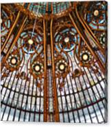 Gallery Lafayette Ceiling Canvas Print