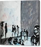 Bewildered Canvas Print