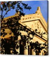 Gallier Hall Pediment Canvas Print