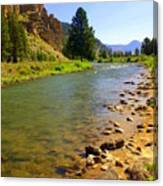 Gallitan River 1 Canvas Print