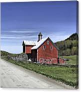 Gallop Road Barn Canvas Print