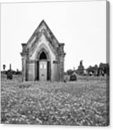Galveston Old City Cemetery Canvas Print
