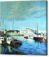 Galway Docks Canvas Print