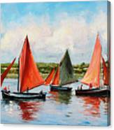 Galway Hookers Canvas Print