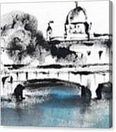 Galway - Monochromatic  Canvas Print
