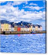Galway On The Water Canvas Print
