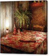 Game - Checkers - Checkers Anyone Canvas Print