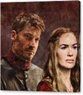 Game Of Thrones. Cersei And Jaime. Canvas Print