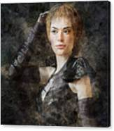 Game Of Thrones. Cersei Lannister. Canvas Print