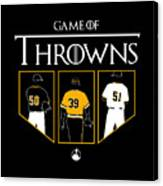 Game Of Throwns Canvas Print