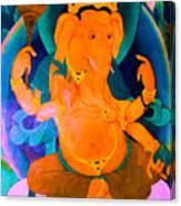 Ganapati 4 Canvas Print