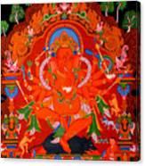 Ganapati 5 Canvas Print
