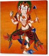 Ganapati   7 Canvas Print