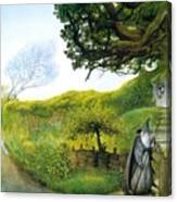 Gandalf Houses Tolkien The Magician Canvas Print