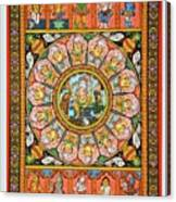 Ganesha 4 Canvas Print