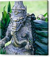 Ganesha Ganesa Ganapati Vinayaka Pillaiyar Hindu Pantheon Canvas Print
