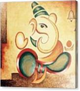 Ganesha's Blessing Canvas Print