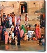 Ganges Canvas Print
