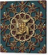 Ganpati Mandala  Canvas Print