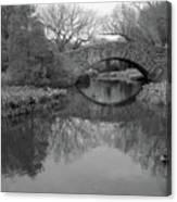 Gapstow Bridge - Central Park - New York City Canvas Print